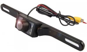 BACKUP REVERSING LICENSE PLATE CAMERA DAY/NIGHT VISION