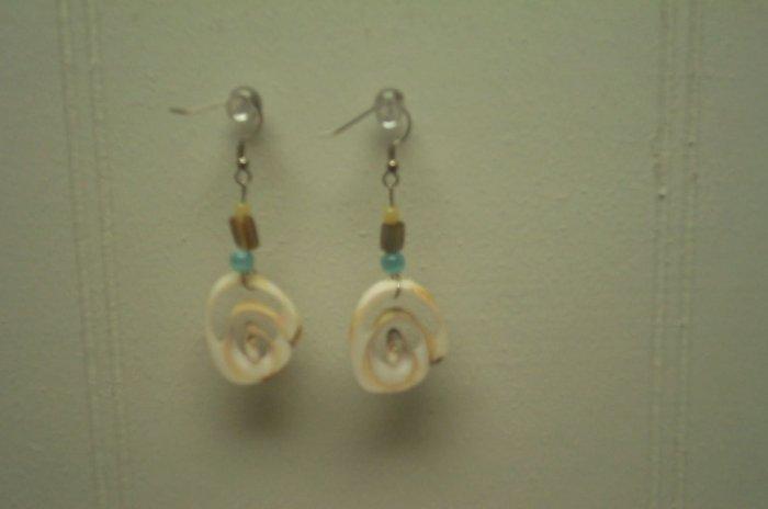 Seashell Swirl Earrings