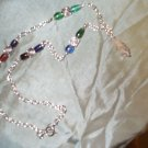 Medieval Elven Renaissance Quartz Crystal Necklace