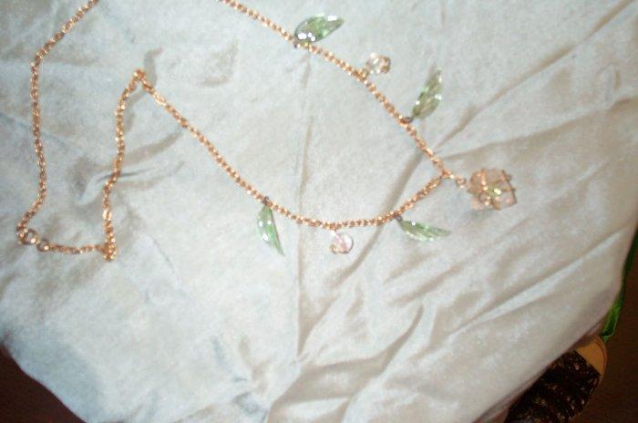 Elven Green Leaf Necklace