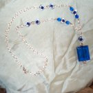 Medieval Renaissance Blue Necklace
