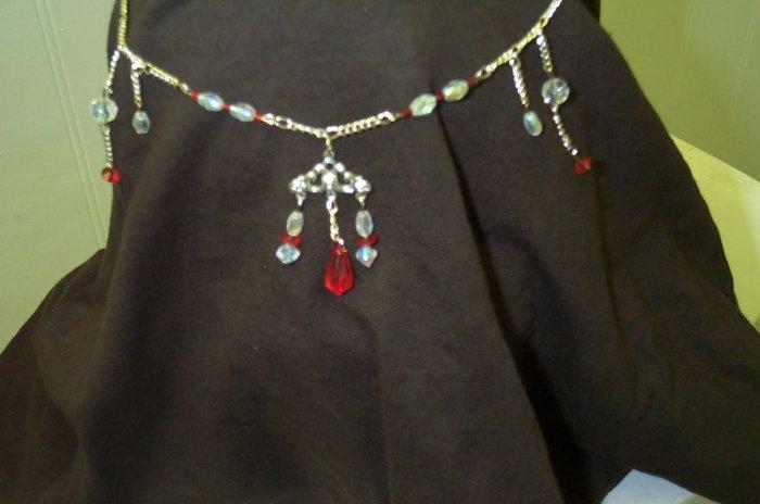 Red Elven Renaissance Celtic Medieval Circlet