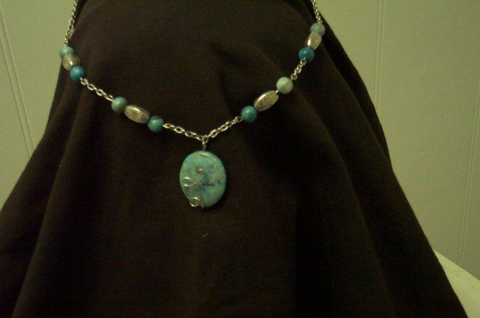 Elven Jasper Fairy Circlet Renaissance Celtic Silver