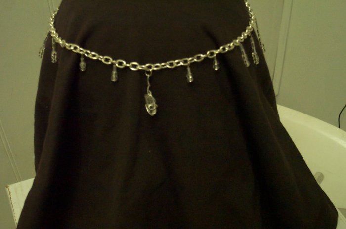 Quartz Crystal Elven Circlet Renaissance Fairy Celtic Medieval