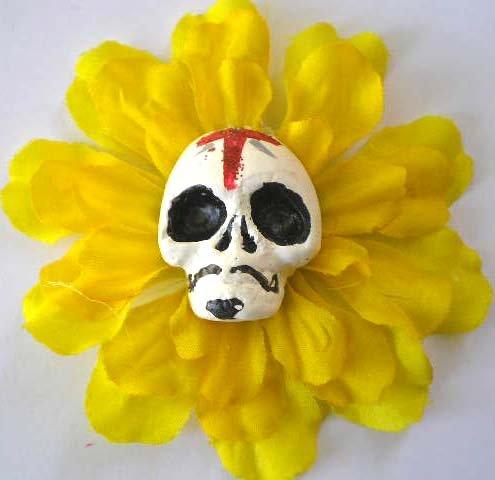 Yellow Diablito Calavera