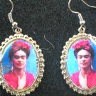 RED FRIDA EARINGS