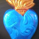 BLUE SACRED HEART