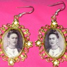 Frida Gold Earings