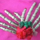 Double Skeleton hand Hair Clip