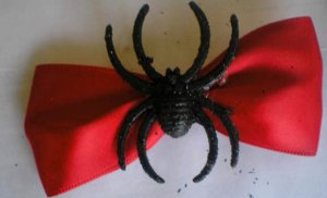 Red Bow W/ Spider