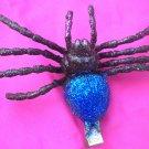 Tarantula  Hair Clip - Blue