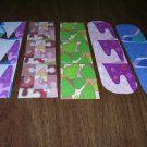 5 Bookmarks - Abstract 1 FREE SHIPPING