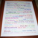 90 Names Of Jesus 8 x 10 Poster