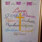 "8 x 10 Print Bible Verse ""Fruit of the Spirit"" Galatians 5: 22-23"