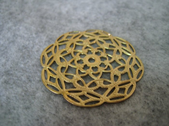 Filigree, 39mm, 1pc