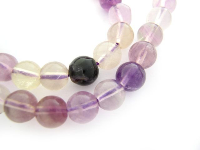 Amethyst Drop-shaped Gemstone, 5pcs