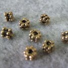 Bali Beads, 4mmx3mm, 10pcs