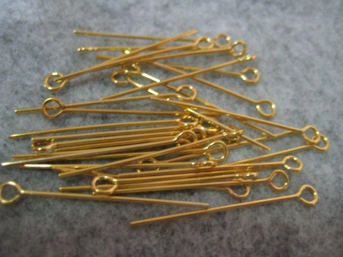 Eyepins, 1 inch, 50pcs