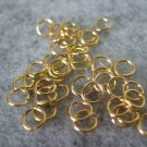 Jump rings, 4mm, 50pcs