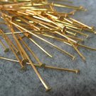 Headpins, 38mm, 50pcs