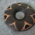 Wooden Filigree, 2pcs, 50mm