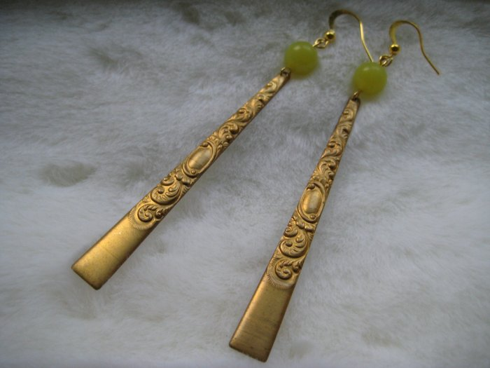 Lemon Chinois ~ Earrings