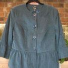 NWT Blue/Green Jacket - Retails $90.00 - Size 14W