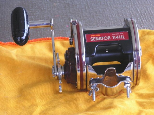 Penn Senator Fishing Reel 114 HL