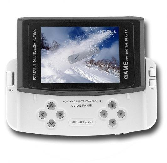 2.8 inch MP4 Player 1GB with 1.3M Pixel Digital Camera with SD Card Slot/Free Shipping