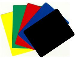 Blackjack Size Cut Card - Choose Your Color