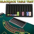 BlackJack Table Chip Tray - 10 Row