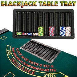 BlackJack Table Chip Tray - 10 Row