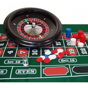 Professionally Balanced Roulette Set Up - 18 Inch Wheel