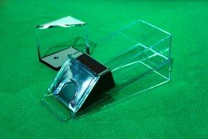 4 Deck Blackjack Dealing Shoe & Discard Holder