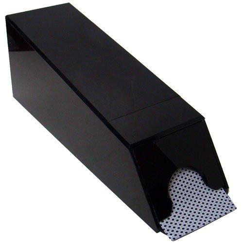 8 Deck Black Casino Security Blackjack Shoe with Free Cut Card