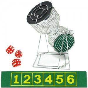 Large Chuck-A-Luck Birdcage Carnival Dice Game