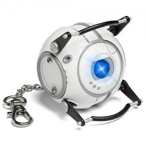 Officially Licensed Portal Wheatley LED Flash Light Key Chain - Valve