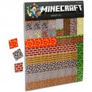 Minecraft Magnet Set - 2 Sheets - 160 Total Pieces - Licensed