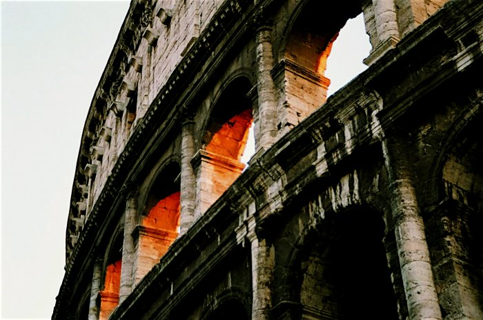 The Coliseum, Rome, Italy
