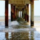 St. Augustine Beach Pier - Digital Art Print 8 x 10