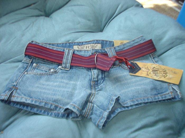 HINT Jean Shorts