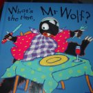 """What's the time, Mr. Wolf"" kids book"