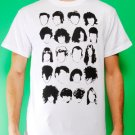 History of Rock N Roll Hair Mens White T-shirt