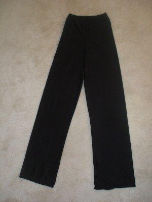 black dance pants.. silk... size 8/9 kids