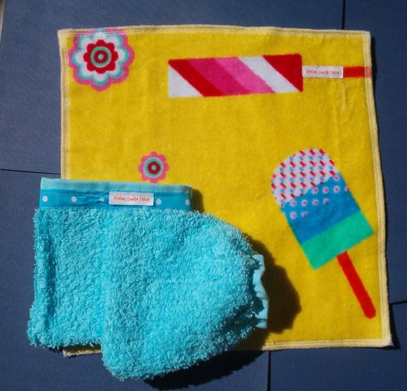 100% cotton childrens wash cloths