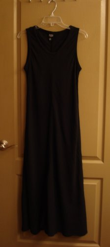 EILEEN FISHER Dress A-line Black linen Fall Feminine PM