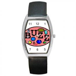 Buzz Barrel Style Metal Watch