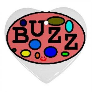 Buzz Ornament (Heart)