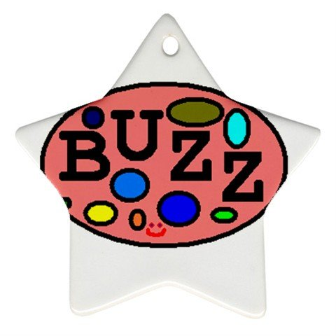Buzz Ornament (Star)