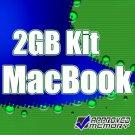 "2x1GB PC2-5300 667MHz DDR2 Unbuffered SAMSUNG Original Memory Kit for Apple MacBook 13"""